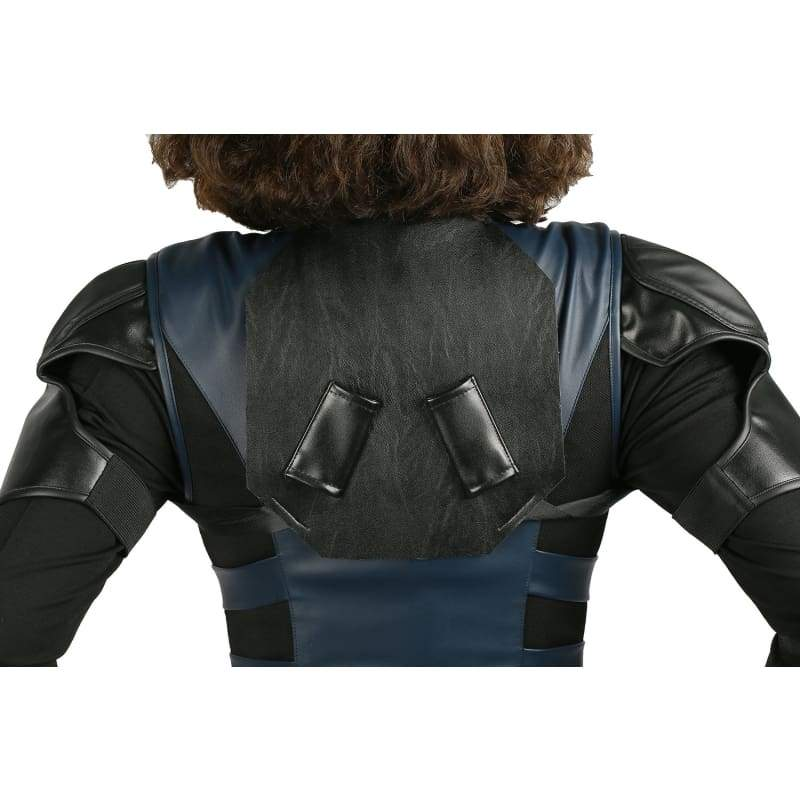 xcoser-de,Halloween Cosplay XCOSER Avengers: Infinity War Cosplay Black Widow Full Set Brand New PU Costume,Costumes