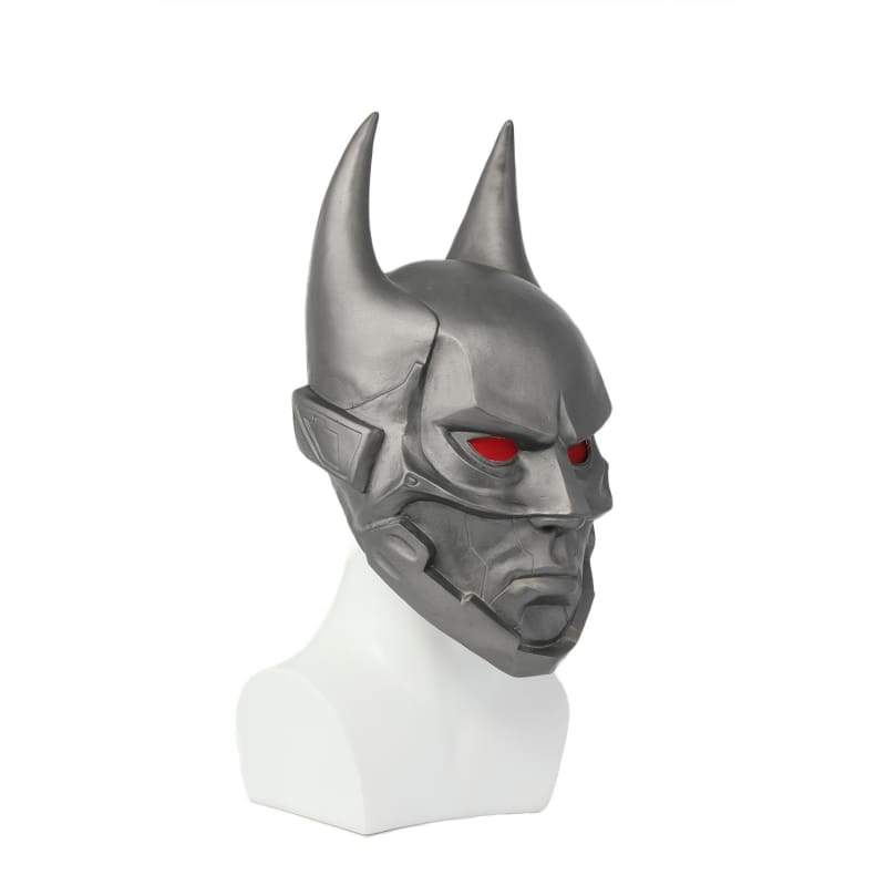 xcoser-de,Halloween Cosplay XCOSER Batman Beyond Cosplay Batman Sliver Full Head Mask Accessory,Mask