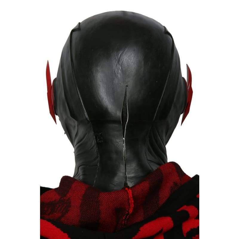 Halloween Cosplay XCOSER Die Flash Staffel 3 Cosplay Black Lightning Vollkopfmaske Cosplay Requisiten