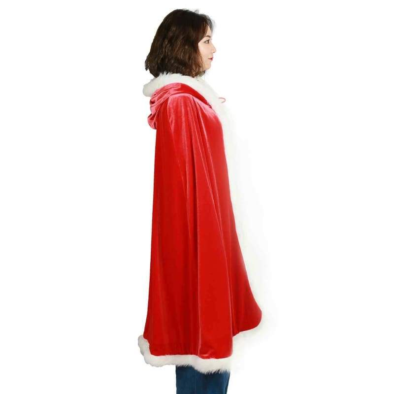 xcoser-de,Halloween/Christmas Related Cape XCSOER Halloween/Christmas Derivative Related Cape With Velvet,Props