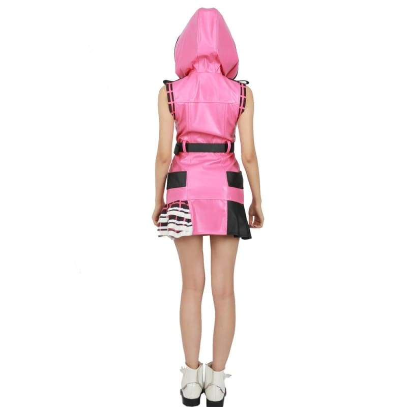 xcoser-de,Haloween Cosplay XCOSER Kingdom Hearts III Game Cosplay Kelly Pink One-piece Dress Cosplay Costume,Costumes