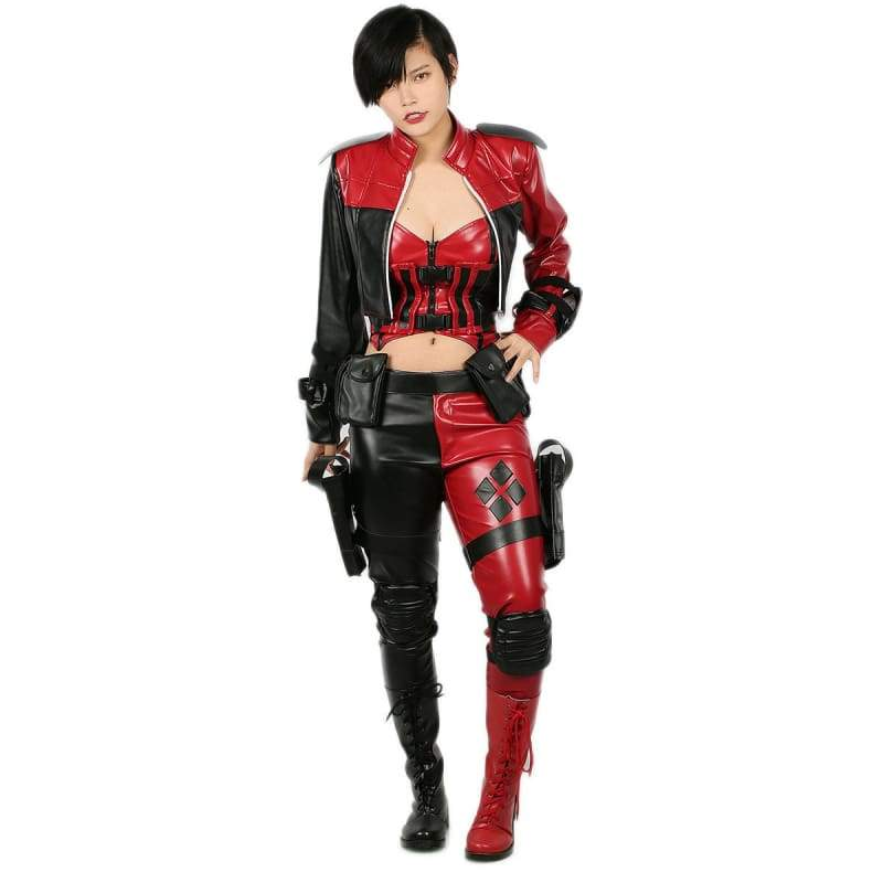 xcoser-de - Harley Quinn Costume Injustice 2 Cosplay - Costumes - Xcoser Costume