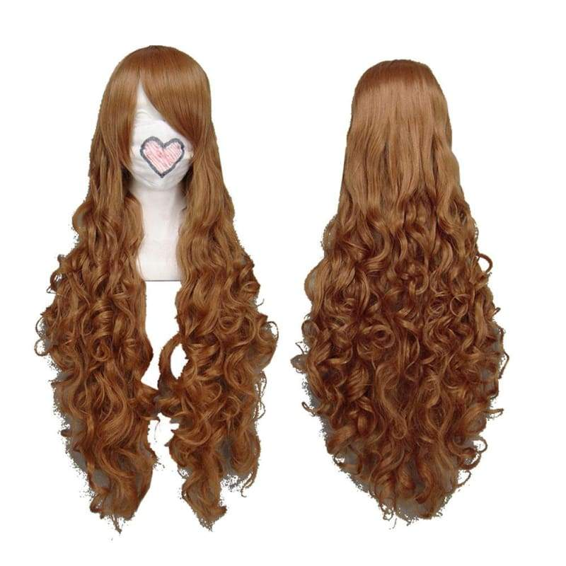 xcoser-de,Hetalia Hungary Wig APH Axis Powers Hetalia Elizaveta Hedervary Cosplay Long Curly Brown Wig,Wigs