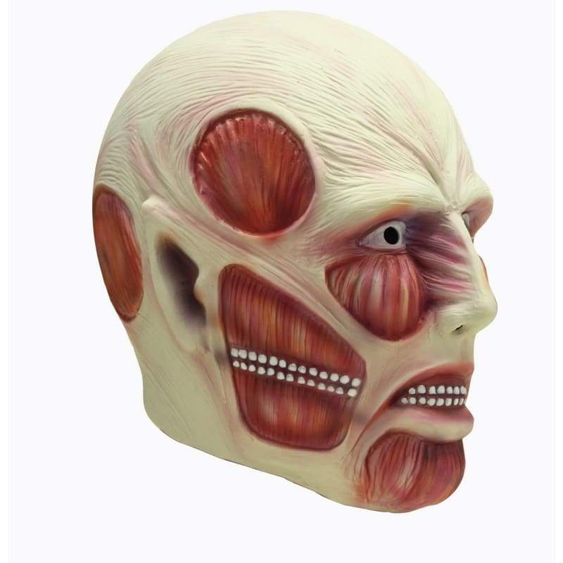 xcoser-de,Horrible Attack on Titan Mask Shingeki no Kyojin Cosplay Mask,Mask