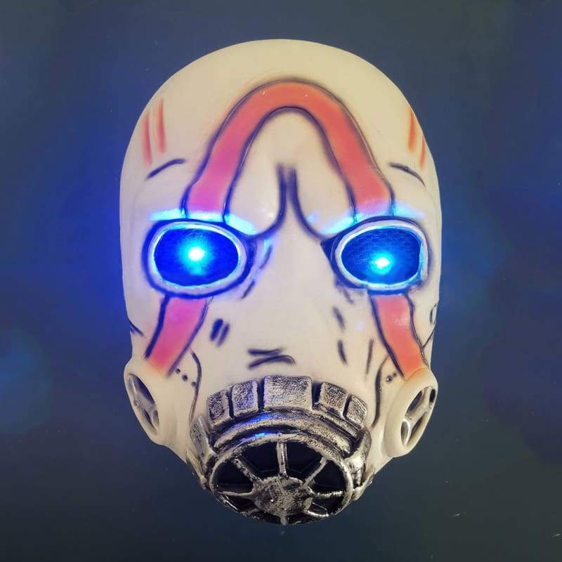 Hot Selling European and American Movie Products Borderlands 3 Mask Halloween Horror Headgear Flash Light - Helmet 2