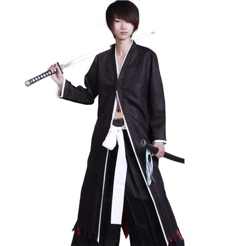 xcoser-de - Ichigo Bankai Costume Bleach Ichigo Cosplay Costume - Costumes - vendor-unknown