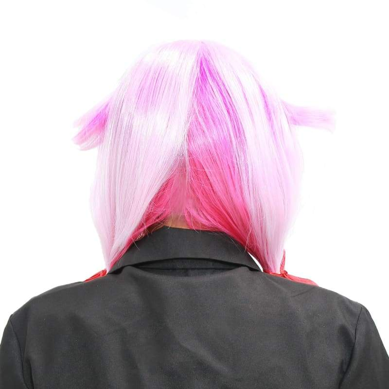 xcoser-de,Inori Yuzuriha Wig Guilty Crown Inori Cosplay Long Pink Red Gradient Color Wig & Hair Clips,Wigs