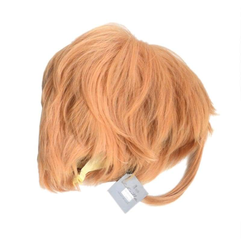 xcoser-de,Iwatooshi Wig Touken Ranbu Iwatooshi Cosplay Short Orange Party Wig,Wigs
