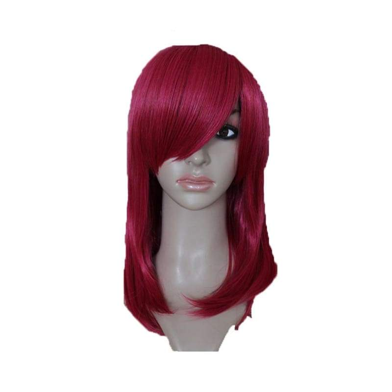 xcoser-de,Katarina Wig League of Legends Katarina Cosplay Wig Long Red Wig,Wigs