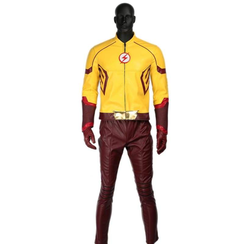 xcoser-de - Kid Flash Wally West Costume The Flash 3 Cosplay - Costumes - Xcoser Costume