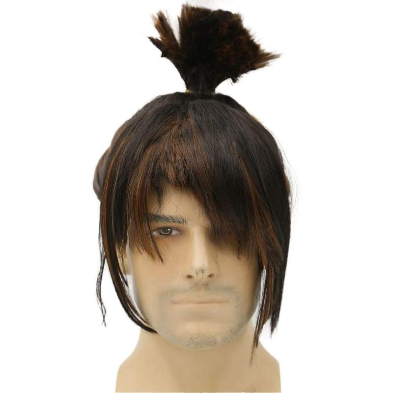 xcoser-de,Kubo Wig Kubo and the Two Strings Cosplay Pre-styled Wig Hair,Wigs