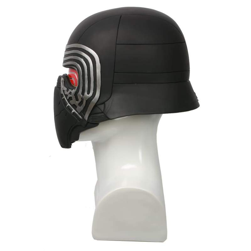 xcoser-de,Kylo Ren Maske Star Wars 7 The Force Awakens Cosplay PVC Vollkopf lackiert Helm mit LED,Helme
