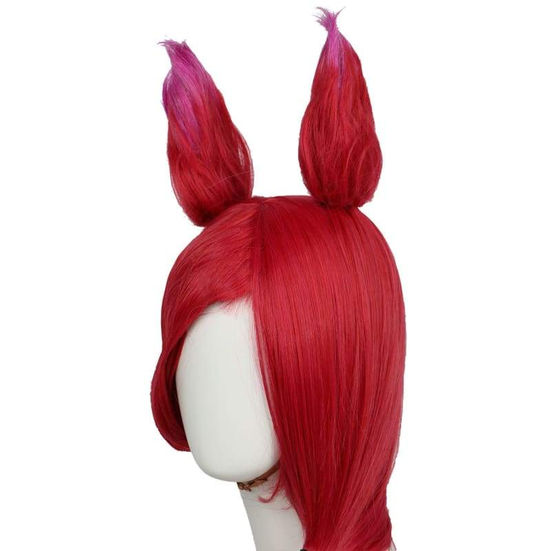 xcoser-de,LOL Xayah Wig League of Legends Cosplay,Wigs