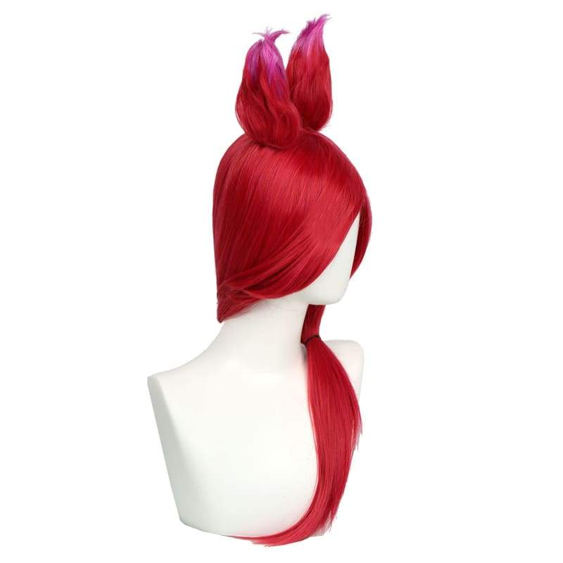 xcoser-de - LOL Xayah Wig League of Legends Cosplay - Wigs - Xcoser Shop