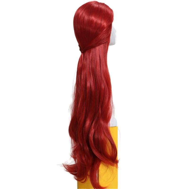 xcoser-de,Melisandre Wig The Game of Thrones Cosplay Costume Long Curly Wavy Hair Accessories,Wigs