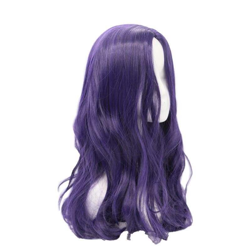 xcoser-de,Moira Mactaggert Wig X-Men: Apocalypse Cosplay Pre-styled Purple Wave Wig Hair Costume Accessories,Wigs