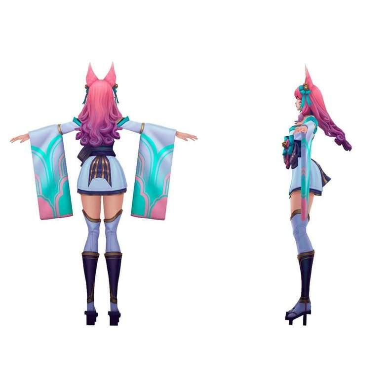 Pre-order | League of Legends Spirit Blossom Ahri Inspires Cosplay Costume - 3
