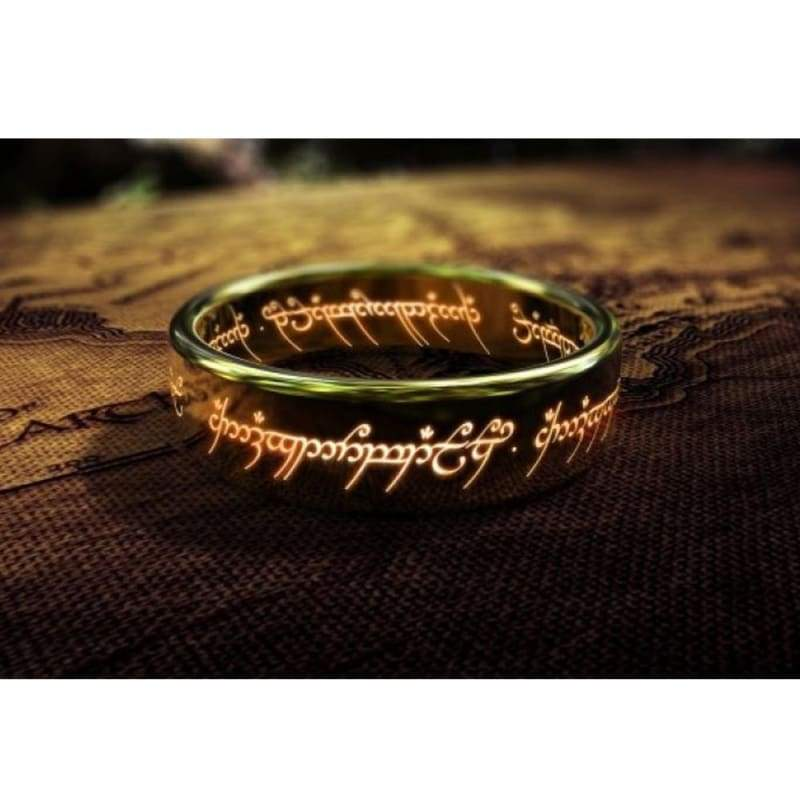 xcoser-de,Preorder: Xcoser The Lord of the Rings Movie The Golden Ring,Jewelry