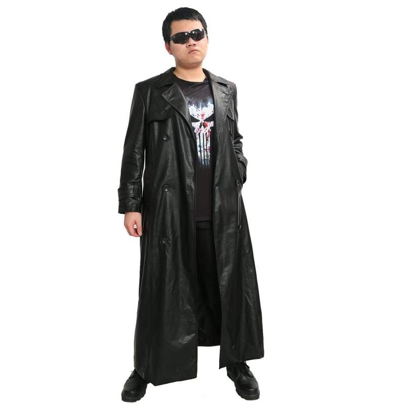 xcoser-de,Punisher Costume Frank Castle Jacket and Tshirt Daredevil Season 2 Cosplay,Costumes