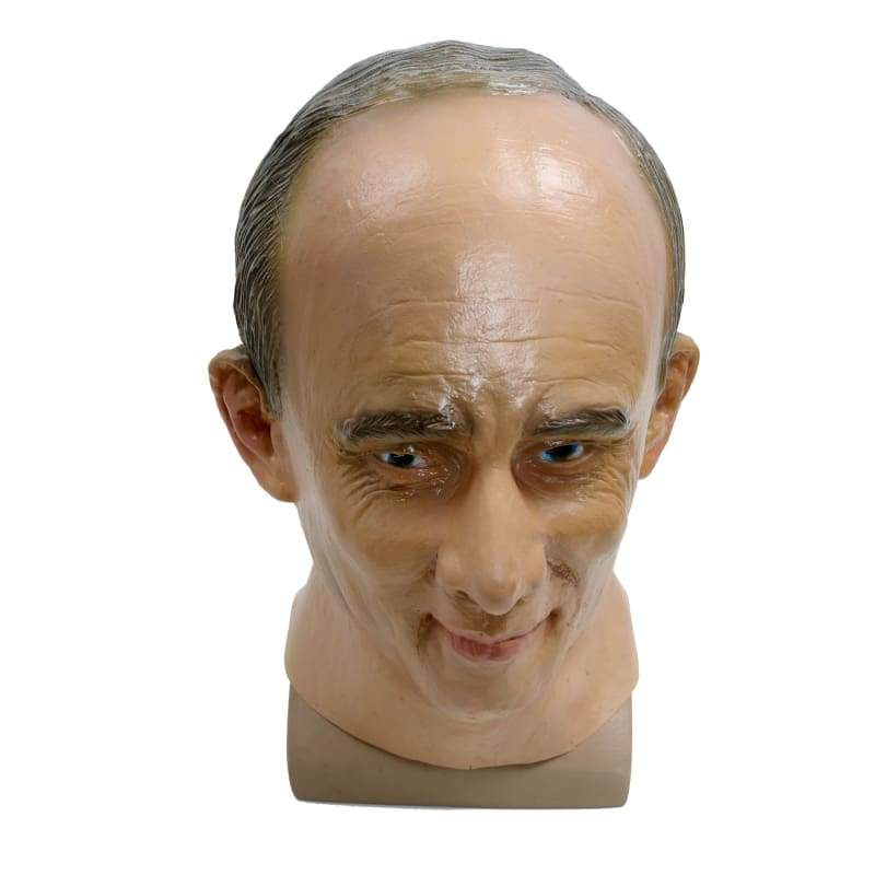 xcoser-de,Putin Mask High Quality Celebrity Mask Vladimir Putin Latex Mask For Halloween Party,Mask