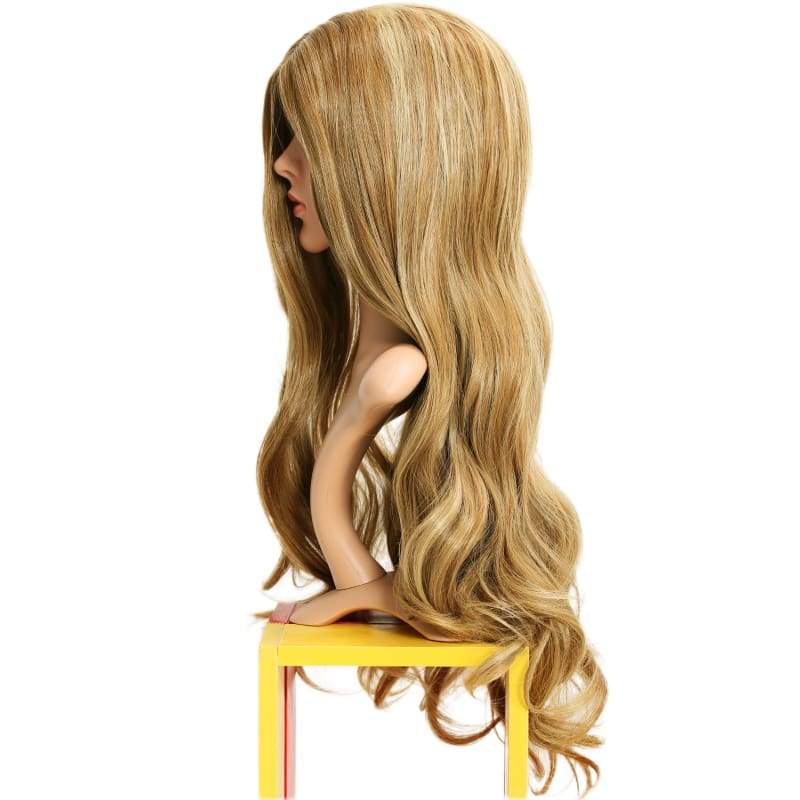 xcoser-de,Rebecca Bowman Wig Banshee Cosplay Costume Long Curly Wavy Hair Accessories,Wigs