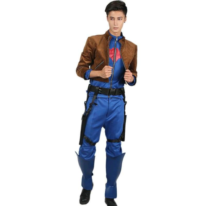 xcoser-de,Red Hood Costume DC Comics Cosplay Costume,Costumes