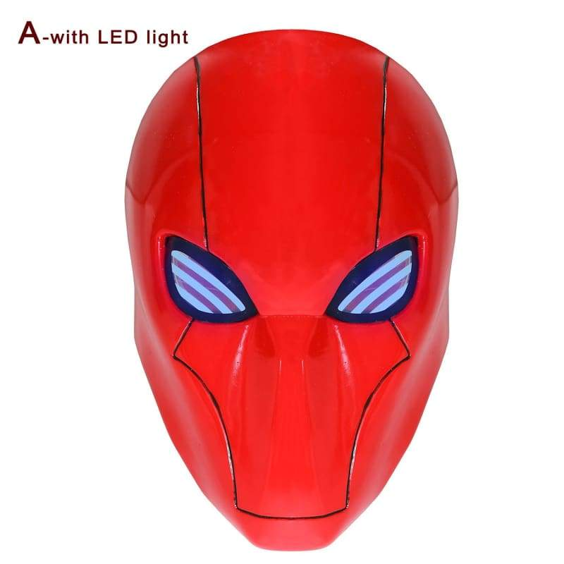 xcoser-de,Red Hood helmet With Mesh Eye Batman Under the Red Hood,Mask