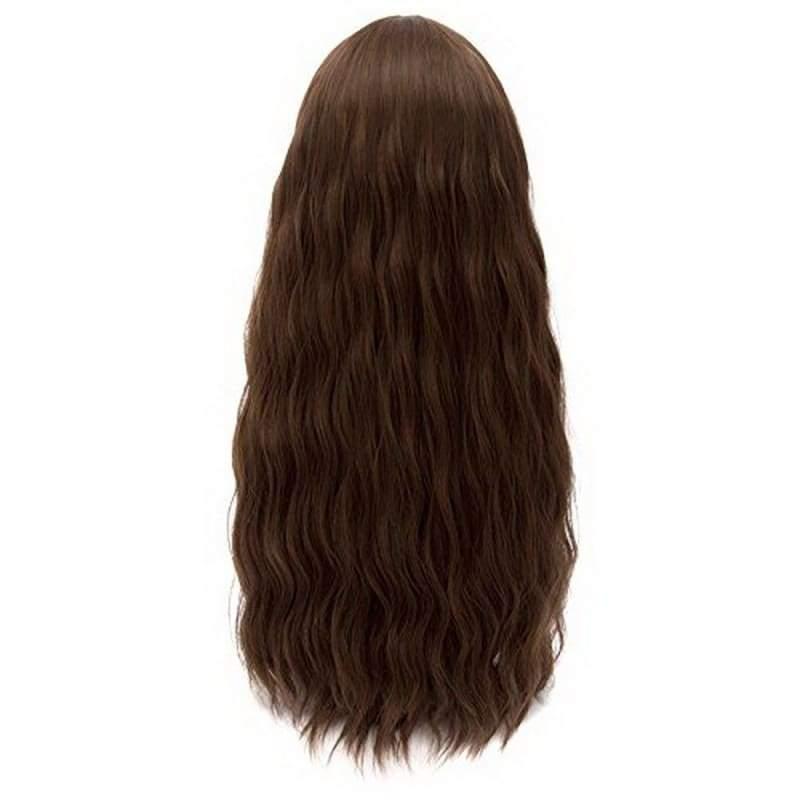 xcoser-de,Scarlet Witch Wig The Avengers 2 Age of Ultron Cosplay Long Wavy Dark Brown Wig,Wigs
