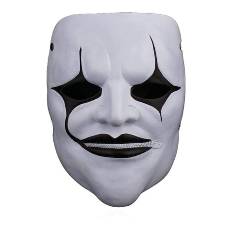 xcoser-de - Slipknot Joey Jordison Mask Evil Style White Mask for Halloween Party - Mask - vendor-unknown