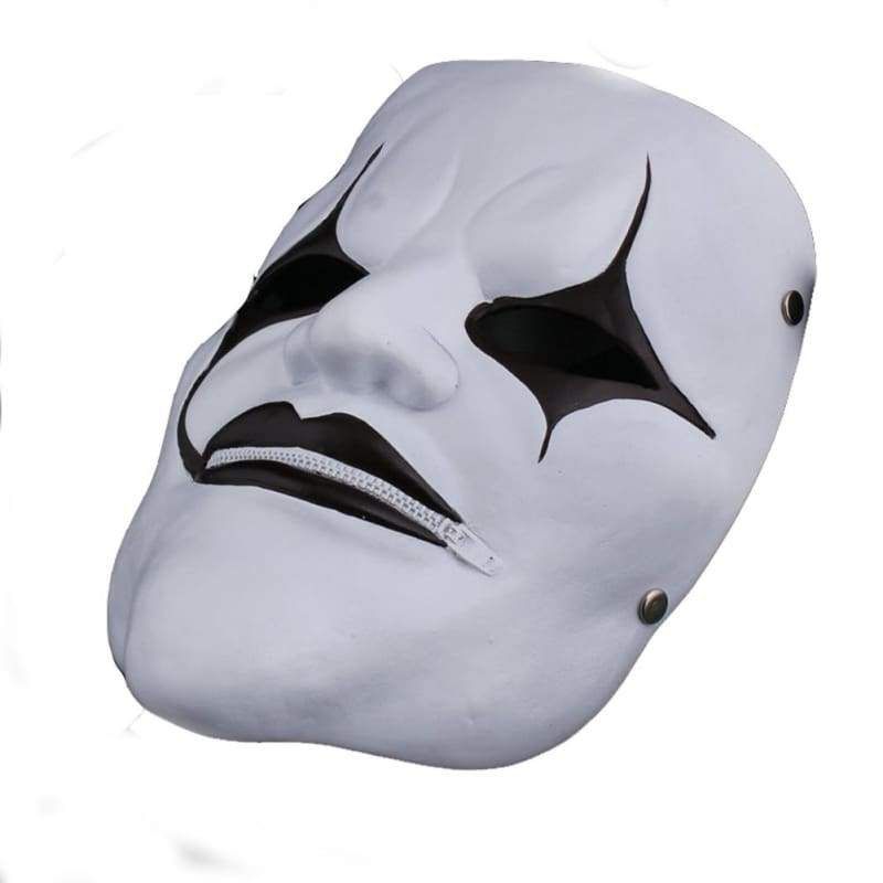 xcoser-de,Slipknot Joey Jordison Mask Evil Style White Mask for Halloween Party,Mask