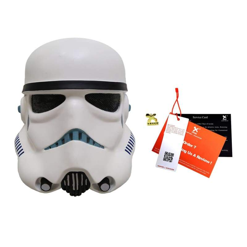 xcoser-de,Stromtrooper Maske gruselig Star Wars Cosplay Helm Halloween Accessories,Helm