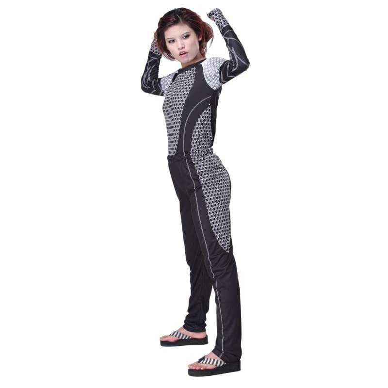 xcoser-de,The Hunger Games 2 Catching Fire New Movie Cosplay Costume Adult Suit,Costumes