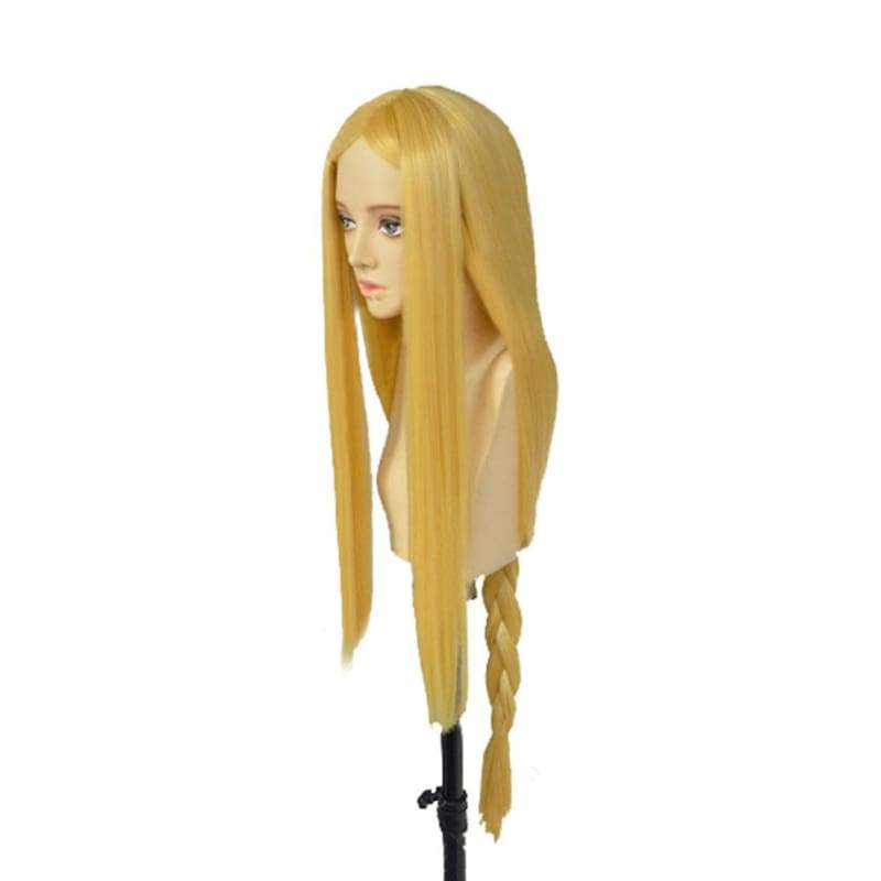 xcoser-de,The Legend of Zelda Wig Princess Zelda Cosplay Costume Golden Long Straight Hair Accessories,Wigs