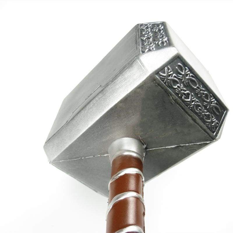xcoser-de,Thor Hammer Marvel The Avengers Thor Battle Hammer Replica Cosplay Props,Props