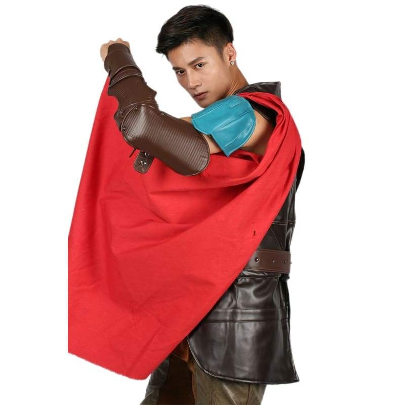 xcoser-de,Thor: Ragnarok Thor costume Cloak With Resin Accessories Cosplay,Props