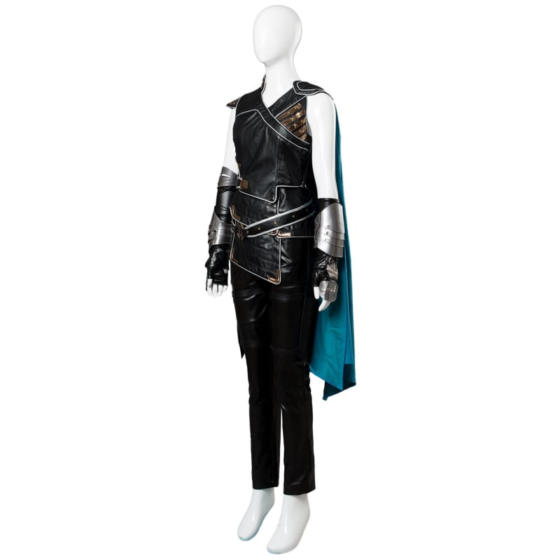 Thor Ragnarok Valkyrie Costume whole Set Female Halloween Cosplay Outfit - Costumes 3