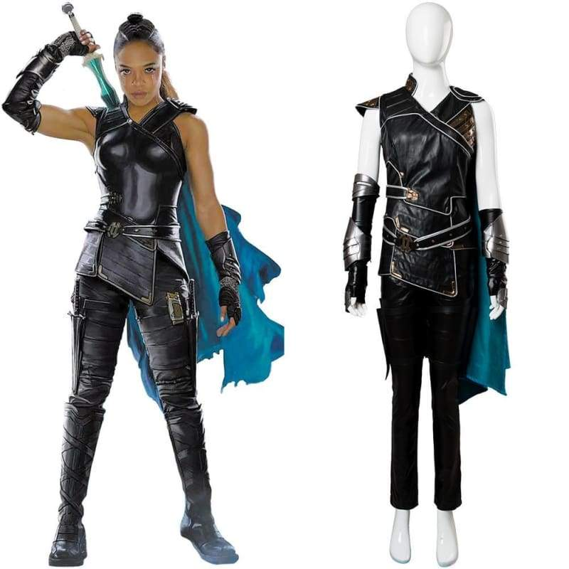 Thor Ragnarok Valkyrie Costume whole Set Female Halloween Cosplay Outfit - Costumes 1