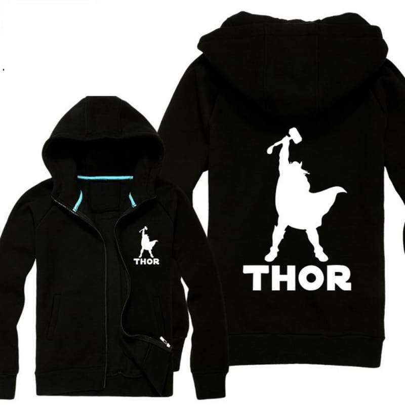 xcoser-de,Thor The Dark World Thor Cosplay Hoodie,Hoodies