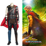 xcoser-de - Updated Thor 3 Ragnarok PU Leather Sleeveless Black Costume - Costumes
