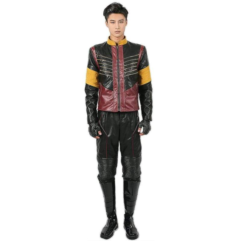 xcoser-de,Vibe PU Costume The Flash Vibe Cosplay Costume,Costumes