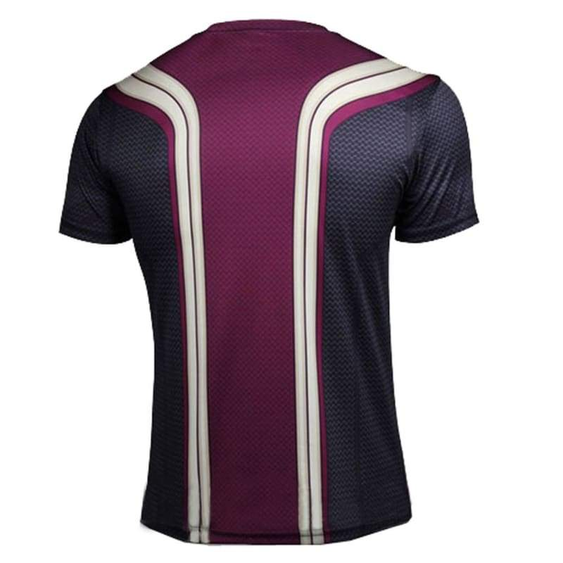 xcoser-de,Vision T Shirt The Avengers 2 Vision Cosplay Costume Mens Short Sleeve Cooldry T-shirts,T-shirts