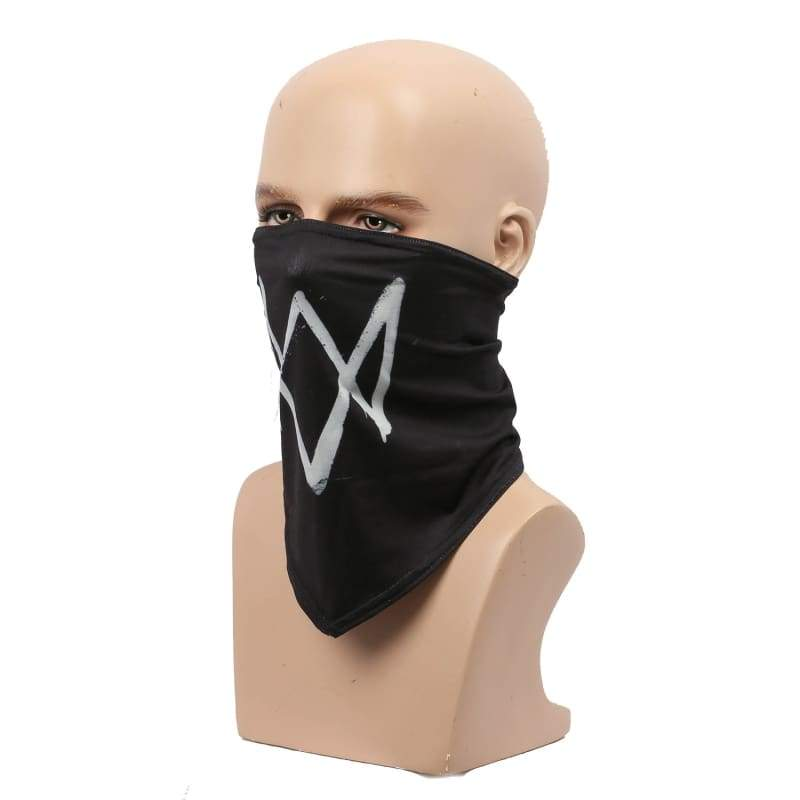 xcoser-de,Watch Dogs 2 Marcus Holloway Scarf Face Mask Marcus Holloway Cosplay Props,Mask