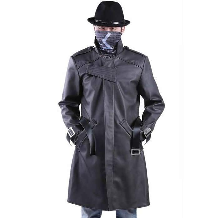 xcoser-de,Watch Dogs Coat Aiden Pearce Coat Costume Cosplay,Costumes