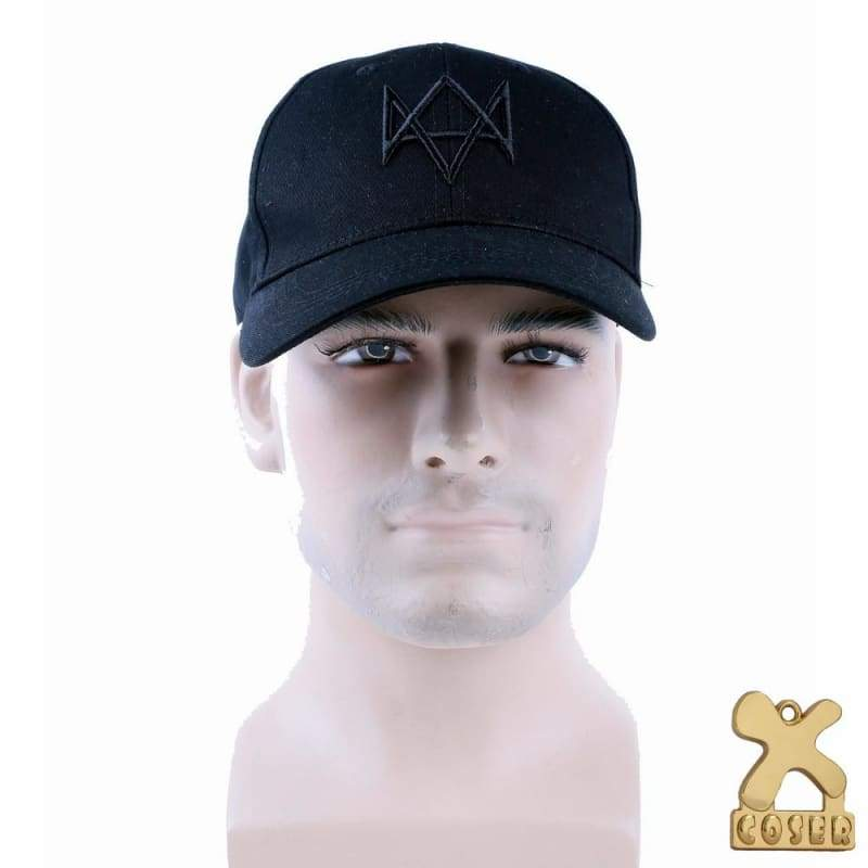 xcoser-de,Watch Dogs Hat Aiden Pearce Cosplay Costume Cap,Hats