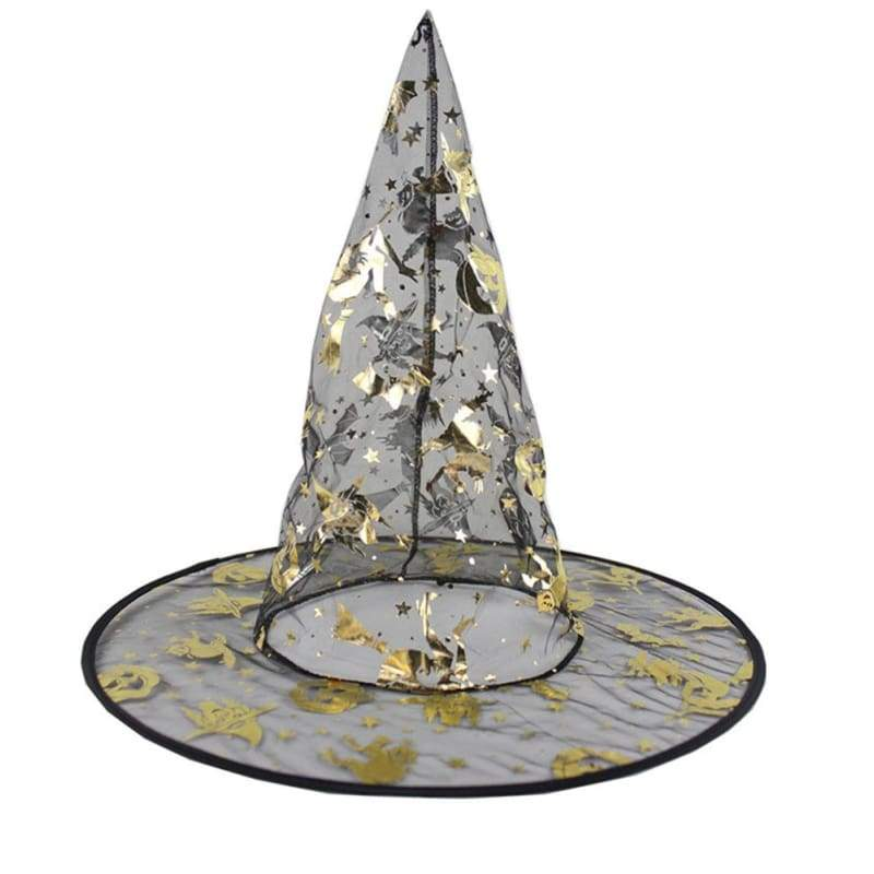 xcoser-de,Wizard Hat Witches Hat Halloween Masquerade Props Fit for Kids and Adults,Hats