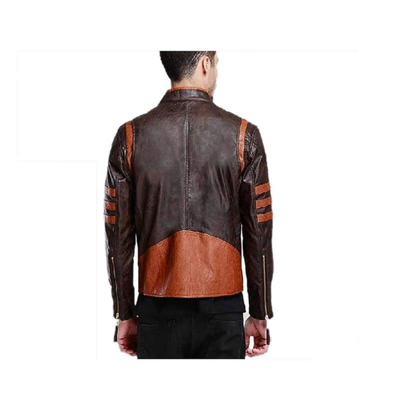 xcoser-de,Wolverine Leather Jacket X-Men Wolverine Cosplay Costumes,Jackets