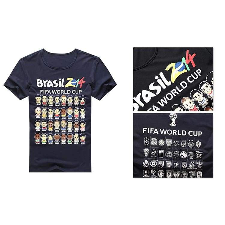 xcoser-de,World Cup T Shirts World Cup 2014 Shirts Cosplay Costume,T-shirts