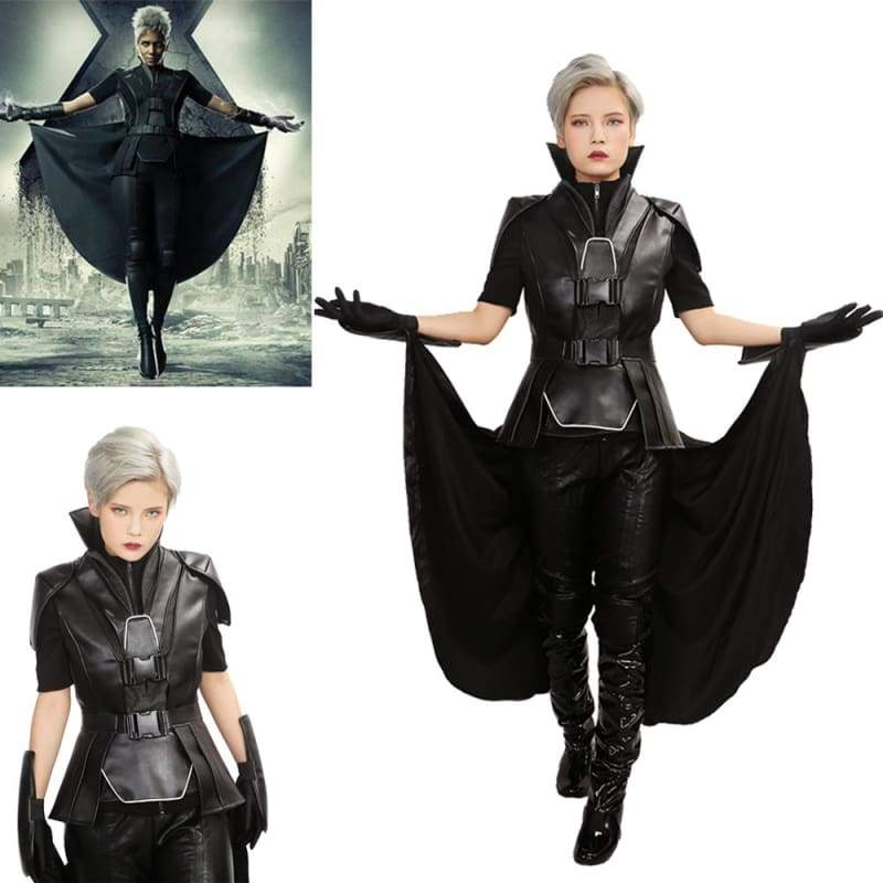 xcoser-de - X-Men: Apocalypse Storm Outfit Hot Movie Cosplay Costume - Costumes