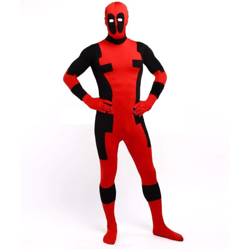 xcoser-de,X-Men Deadpool Zentai Cosplay Costume(Daily Deal),Costumes