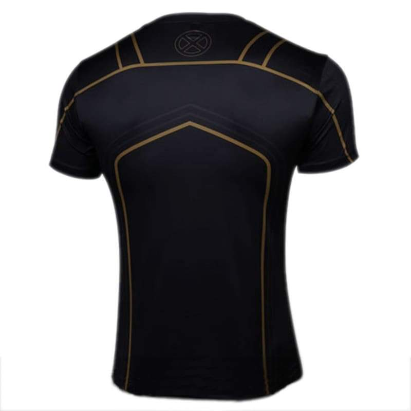 xcoser-de,X-men T shirt Polyester Cooldry Short Sleeve Sport T-shirt For Men,T-shirts